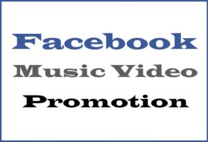 Facebook Music Promo