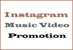 Insta Music Promo